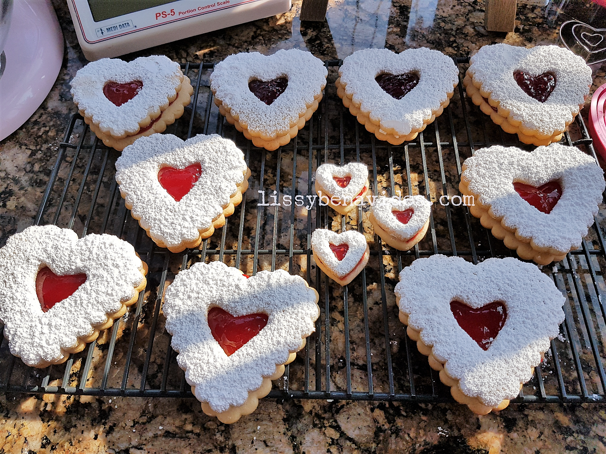 Receta de Galletas del Amor, con Video Clase en Facebook live !