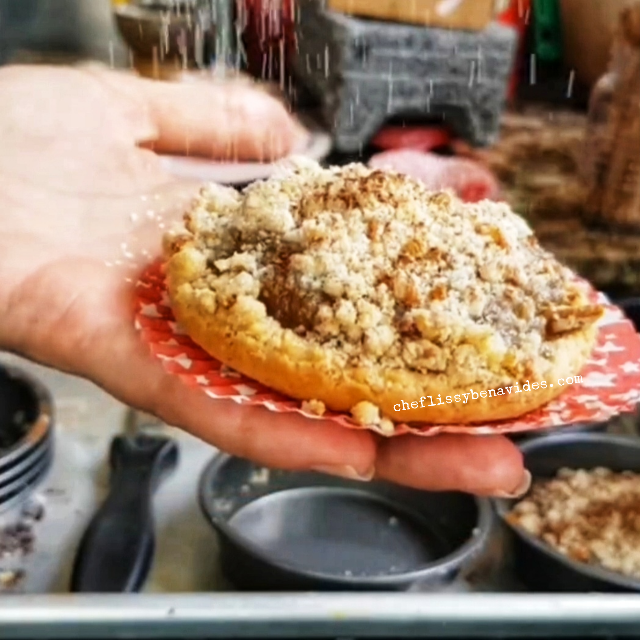 Mini Tartas de Durazno